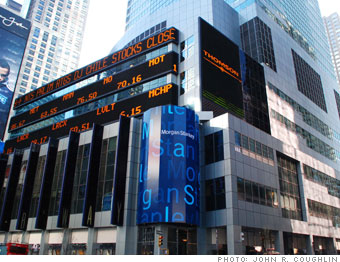 L'accordo di Morgan Stanley con i giapponesi di Mitsubishi salva la banca sull'orlo del collasso