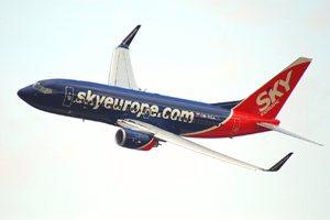 SkyEurope fallisce: tutti i voli sospesi