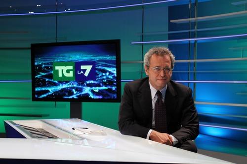 Enrico Mentana si dimette dal TG di La7 e il titolo TI Media crolla in borsa
