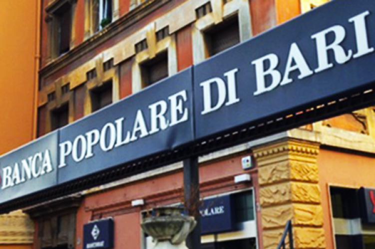 Banca Popolare di Bari conclusa cartolarizzazione POP NPLs 2018