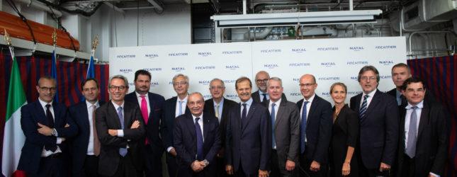 Fincantieri Naval Group accordo industria navale europea competitiva